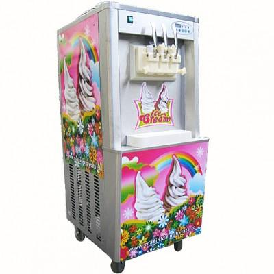 Maşină de îngheţată RAINBOW ICE, 3 capete, 3.9kw