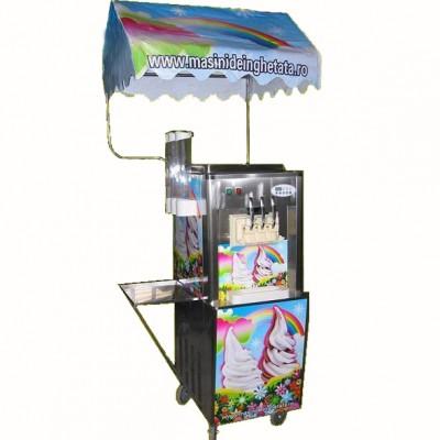 Masina de inghetata RAINBOW ICE, 3 capete-3,0 kw – SECOND HAND